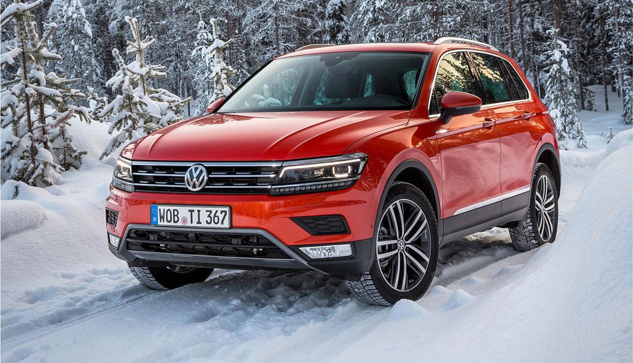 Volkswagen Tiguan выбран «Автомобилем 2017 года»