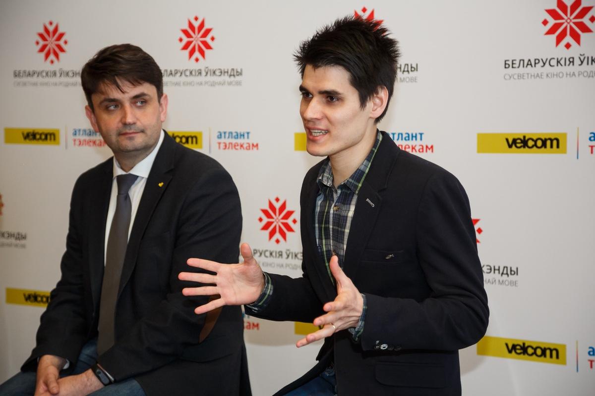 Андрэй Кім і Вячаслаў Смірноў