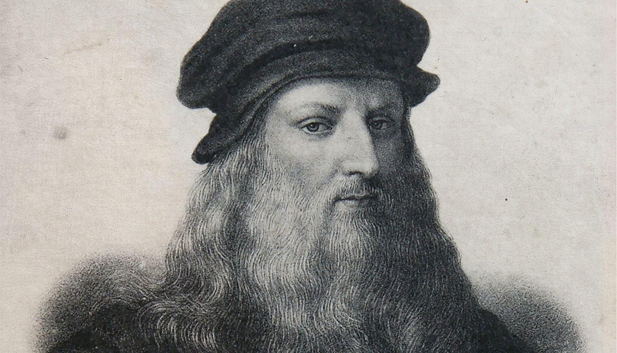 Художник Леонардо да Винчи: «Большая птица раскрыла крылом мне рот и погладила перьями по губам»