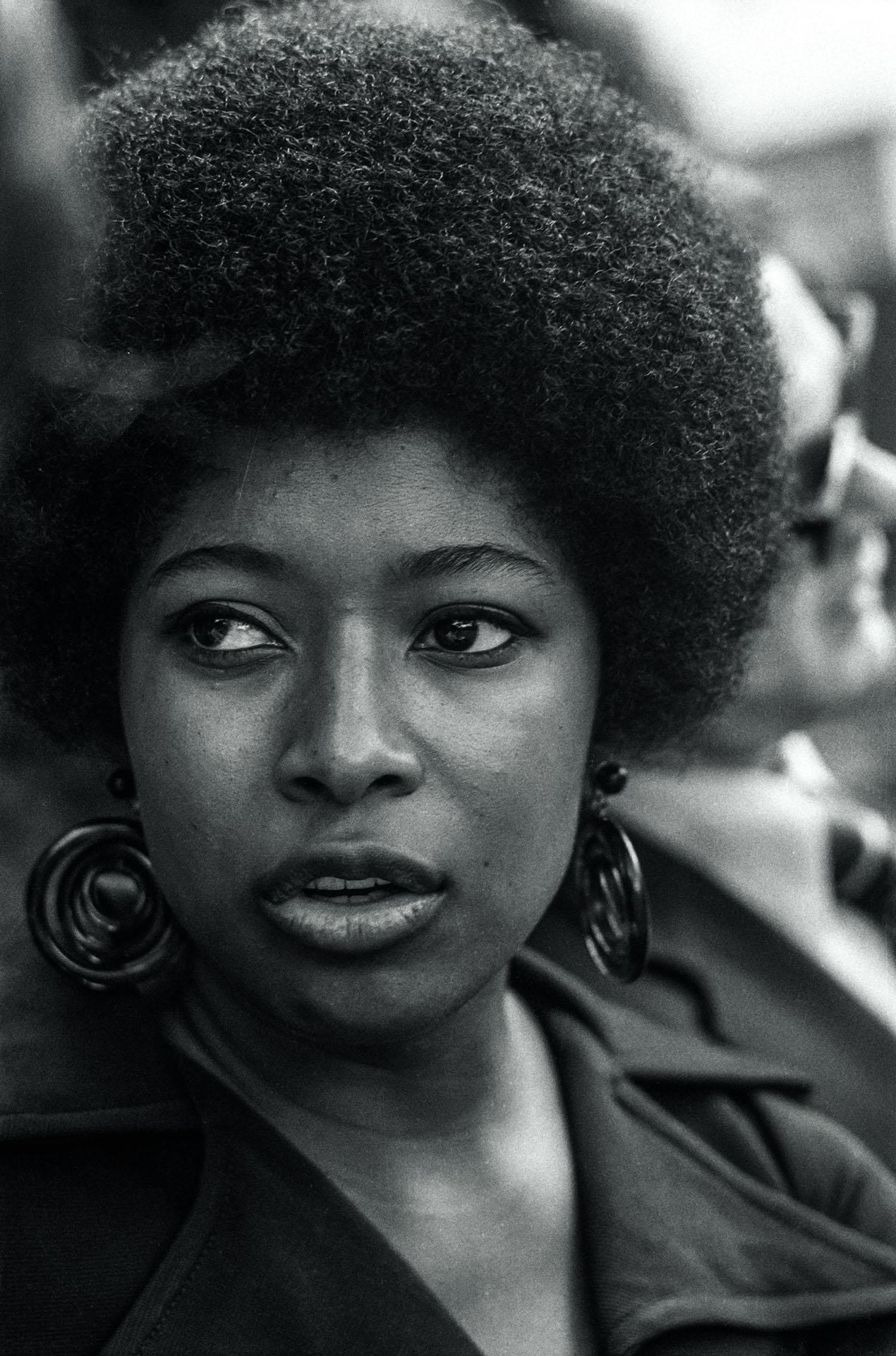 Писательница Элис Уокер 1970 г.