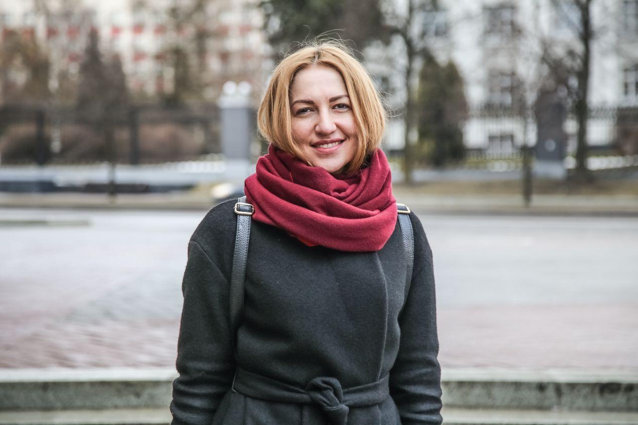 Лилия Волина — феминистка, юристка «Центра по продвижению прав женщин — Её права».