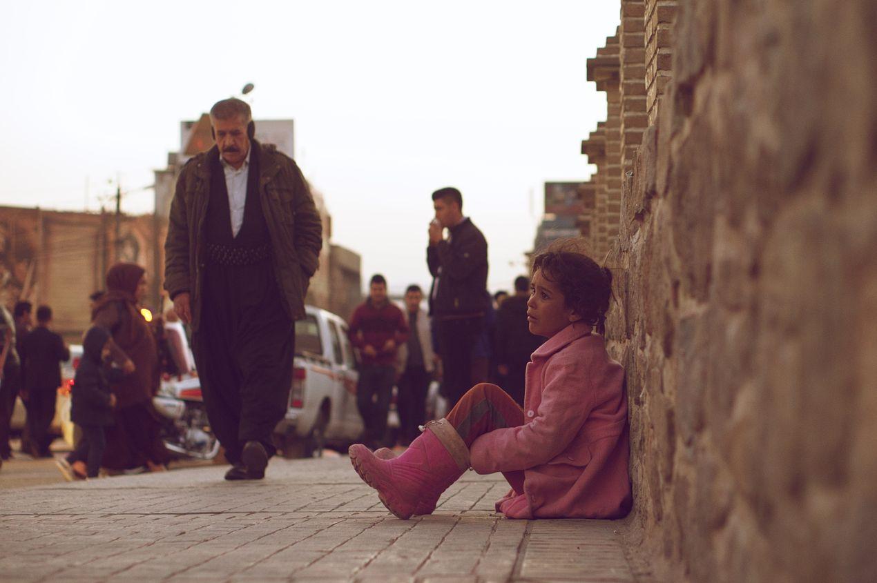 Дети. Иракский Курдистан