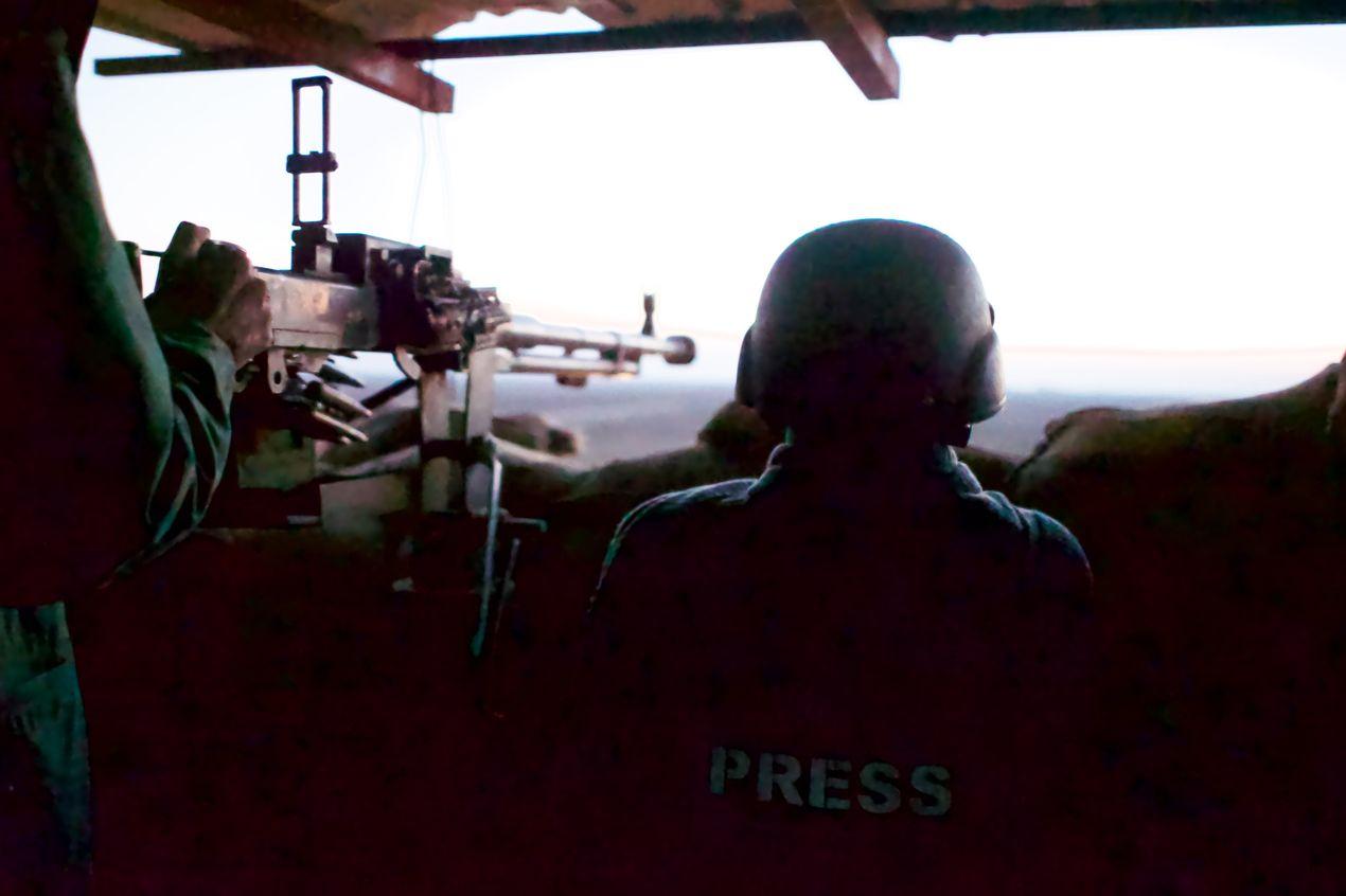 Лагерь Пешмерга. Иракский Курдистан