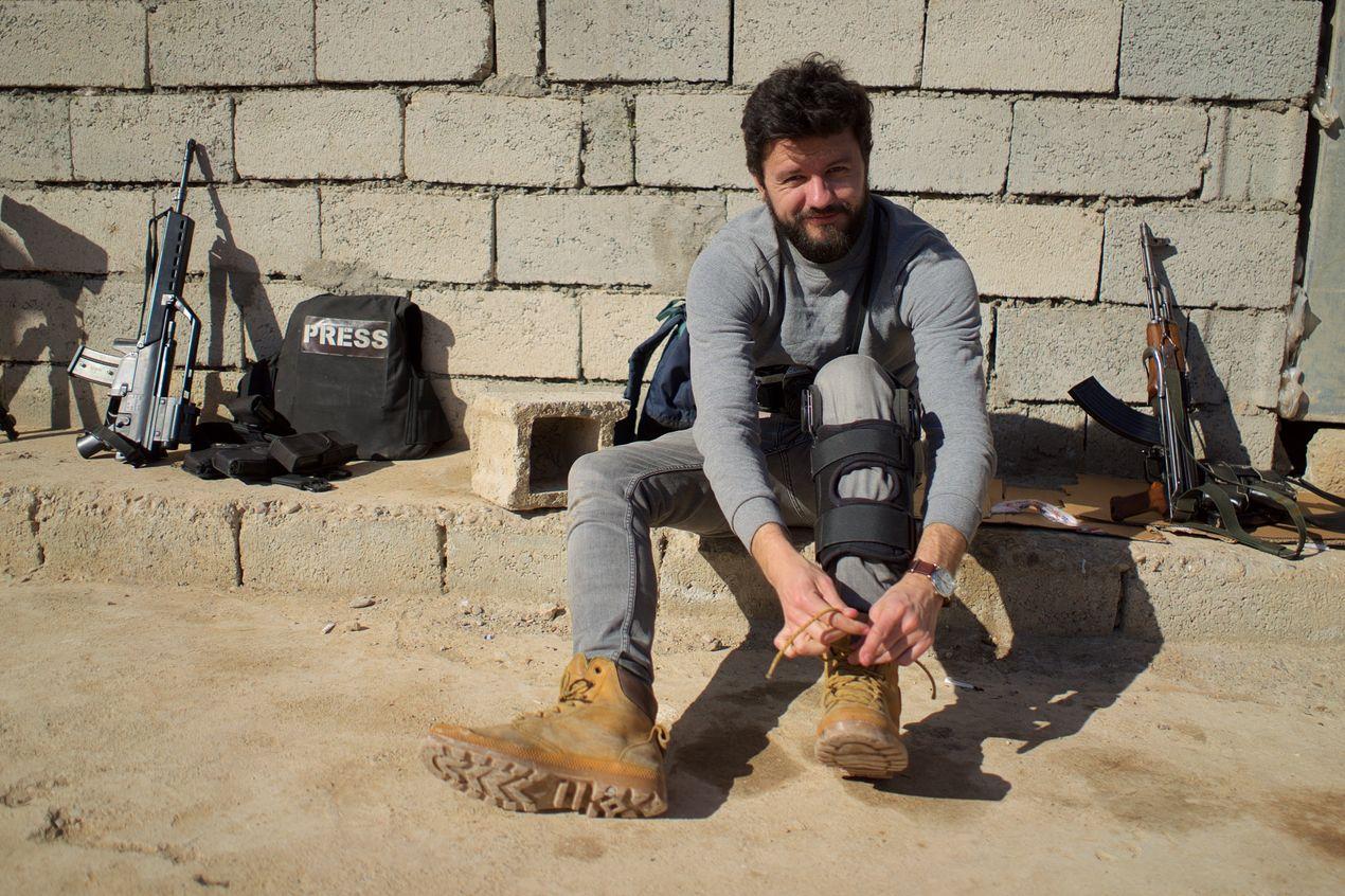 Работа прессы в Иракском Курдистане