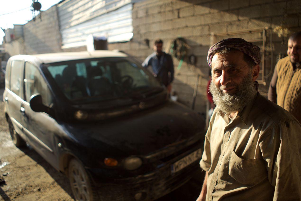 Сергей Марчик. Fiat Multipla в Иракском Курдистане.