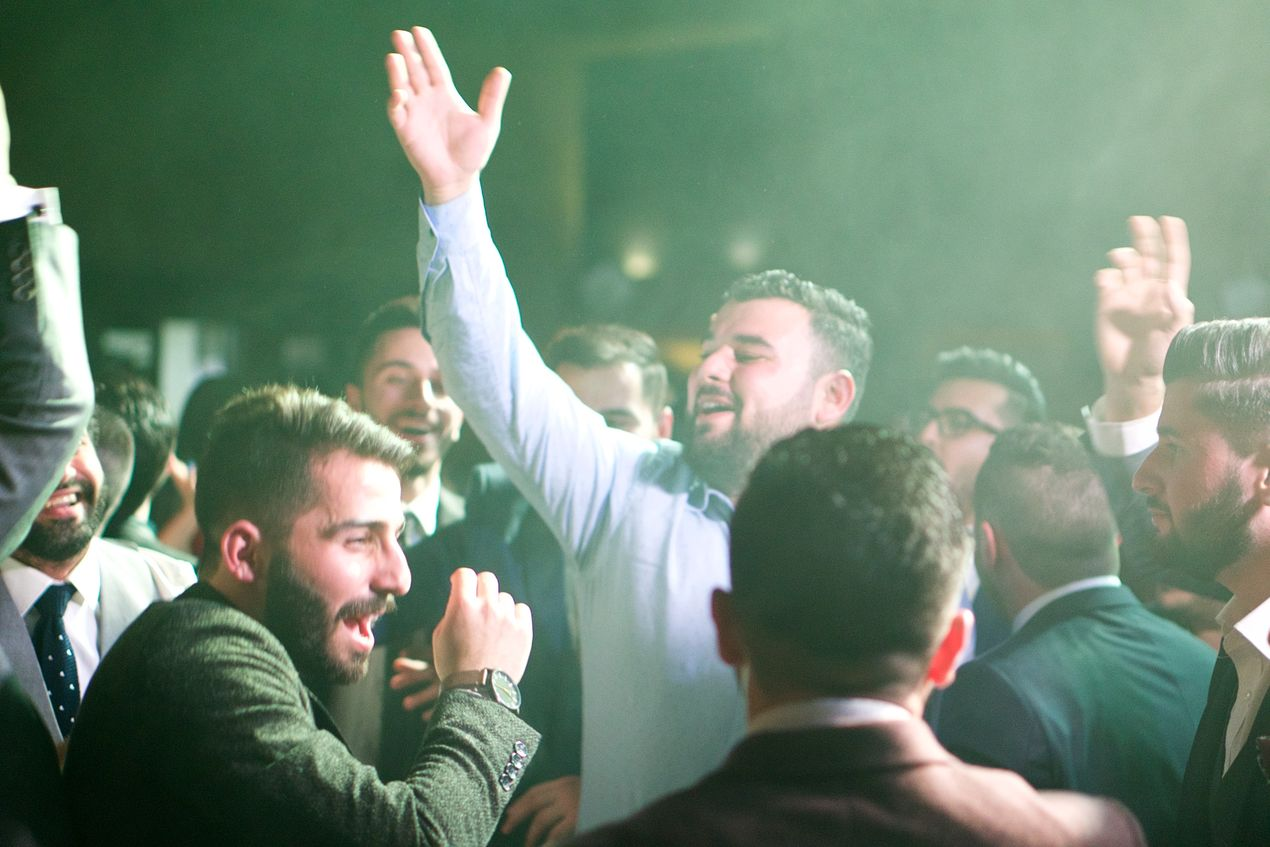 Свадьба в Эрбиле. Курдистан
