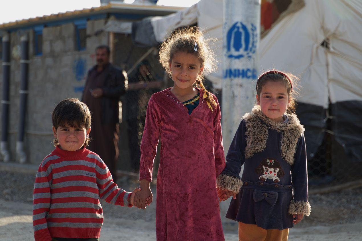Сергей Марчик. Дети в Иракском Курдистане
