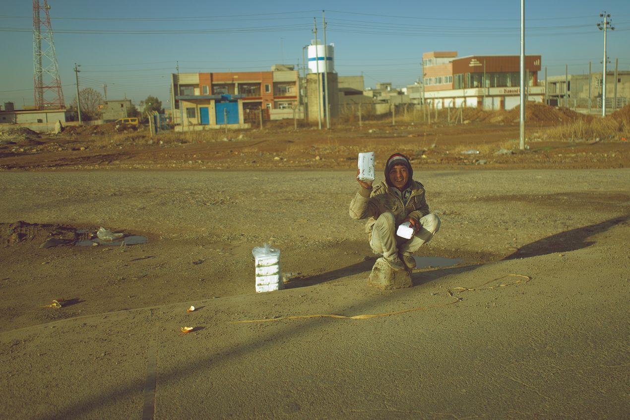 Сергей Марчик. Поездка в Ирак