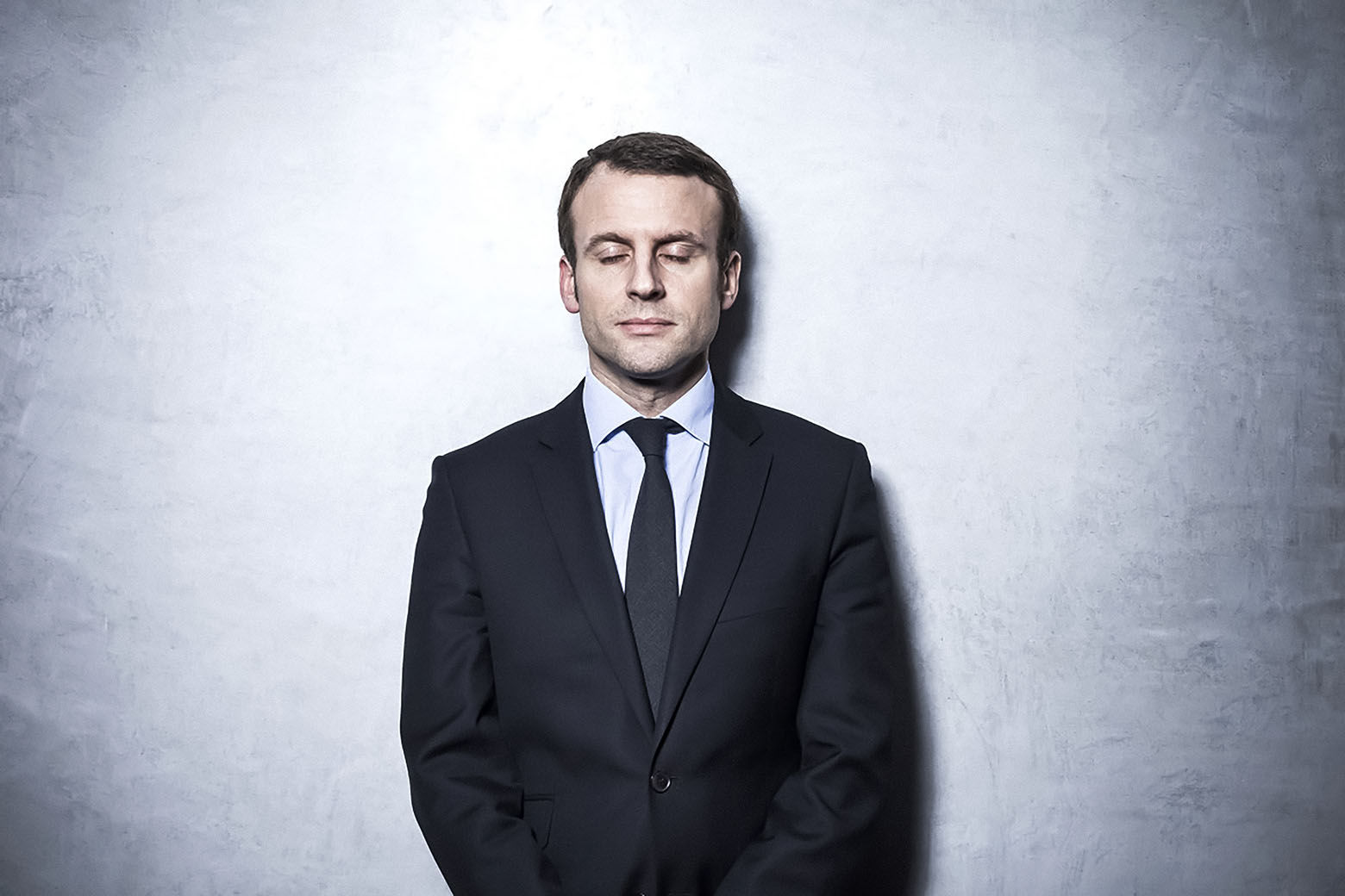 Эммануэль Макрон, лидер движения «Вперед»