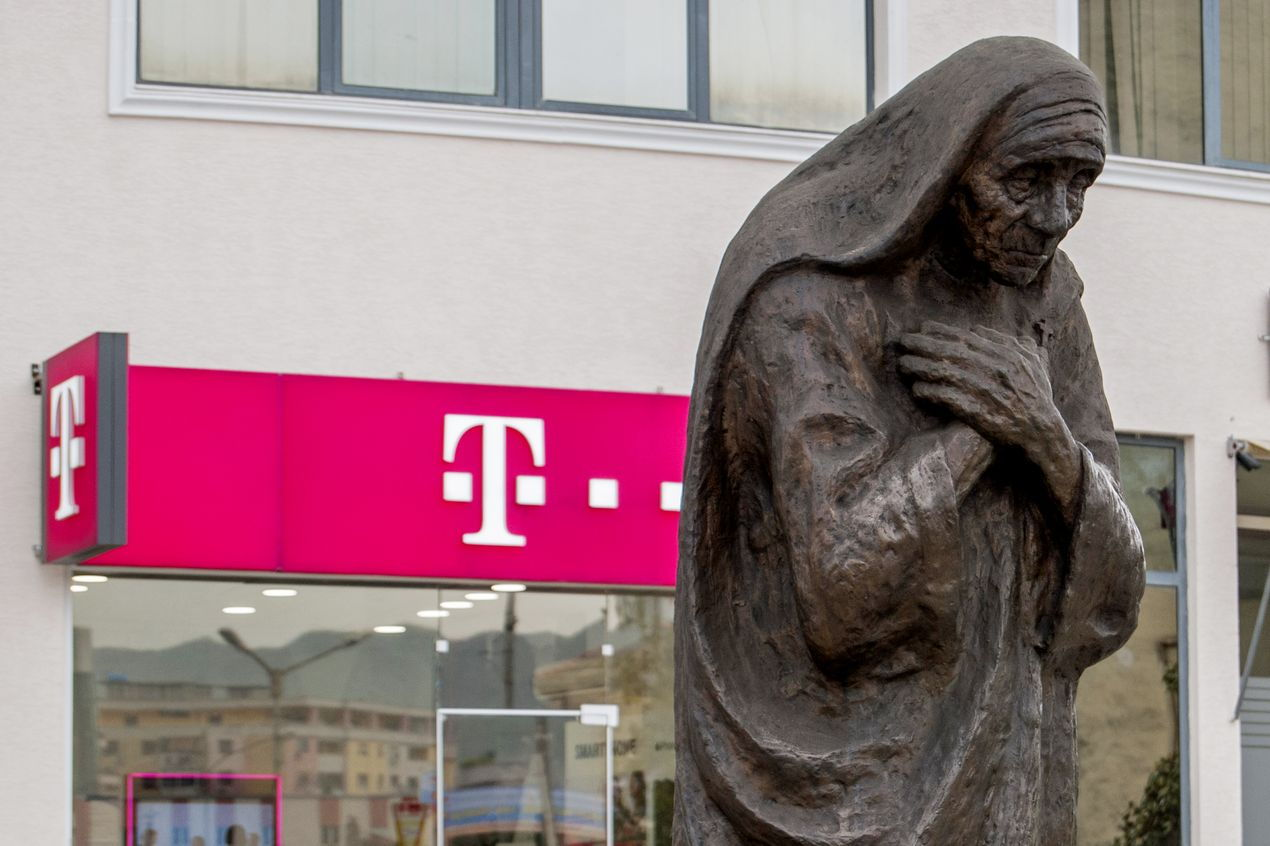 Мать Тереза. Тирана. Албания