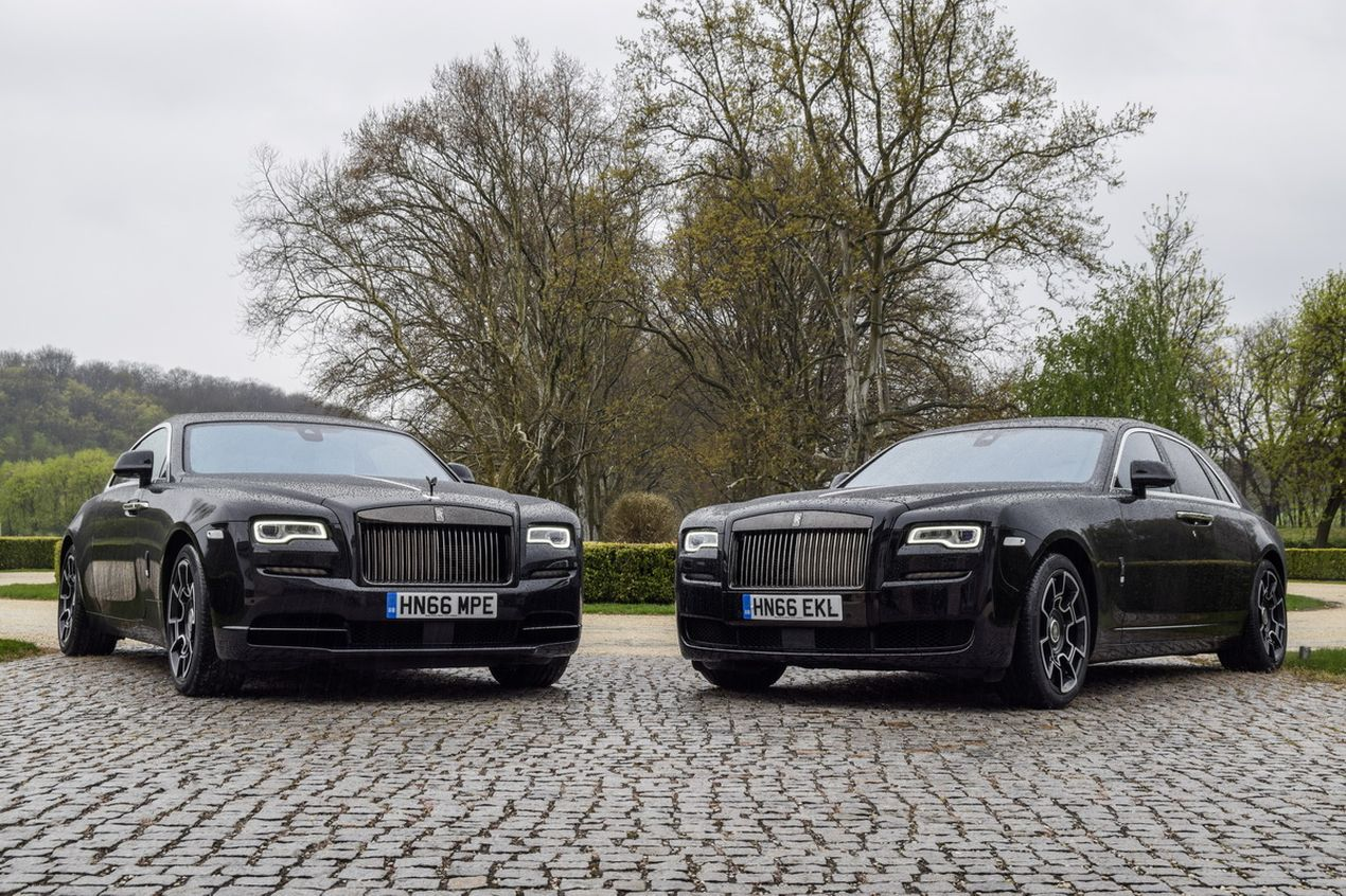 Rolls-Royce Wraith и Rolls-Royce Ghost