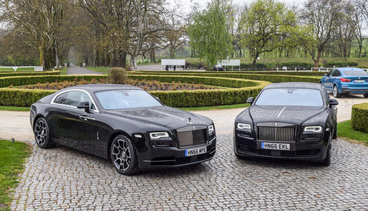 Rolls-Royce, седан Ghost и купе Wraith