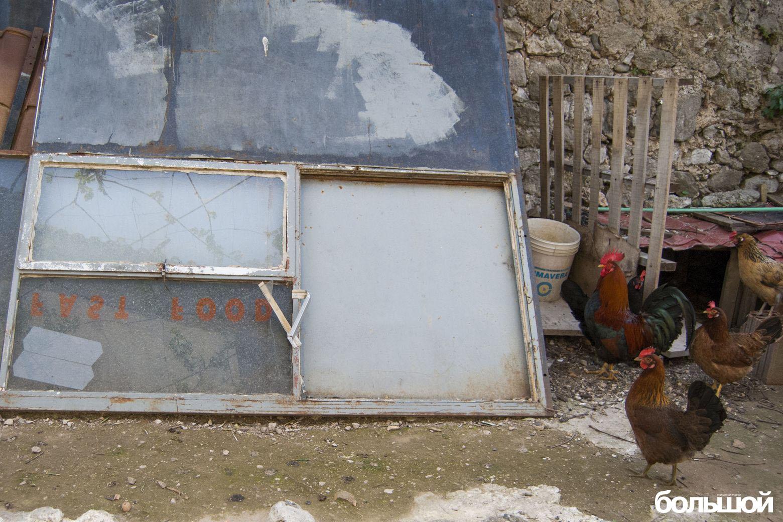 Курицы и фастфуд
