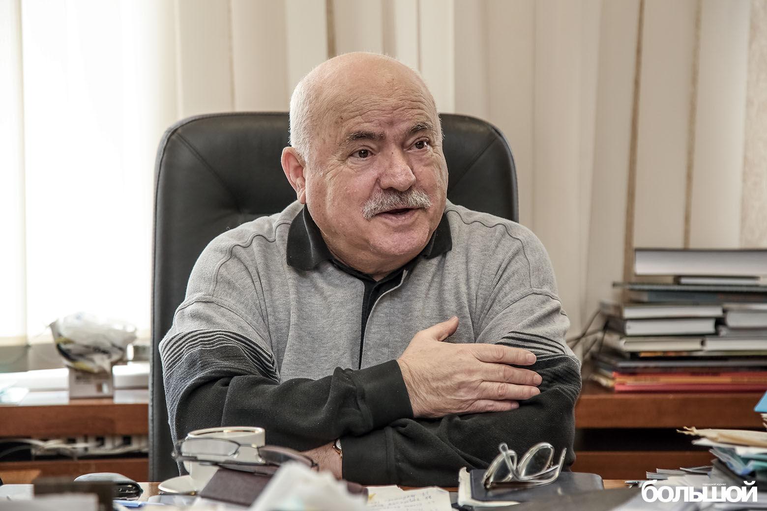 Председатель ОО «Союз писателей Беларуси» Николай Чергинец