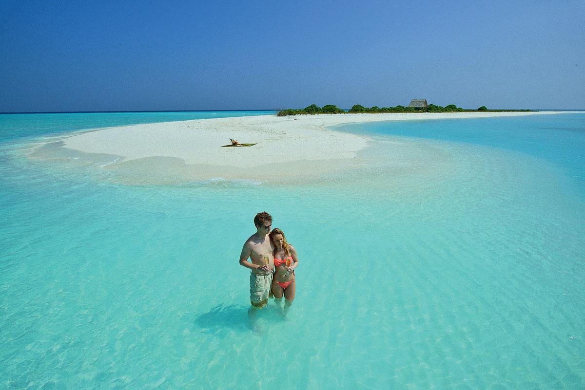 Идеальные пляжи Мальдив