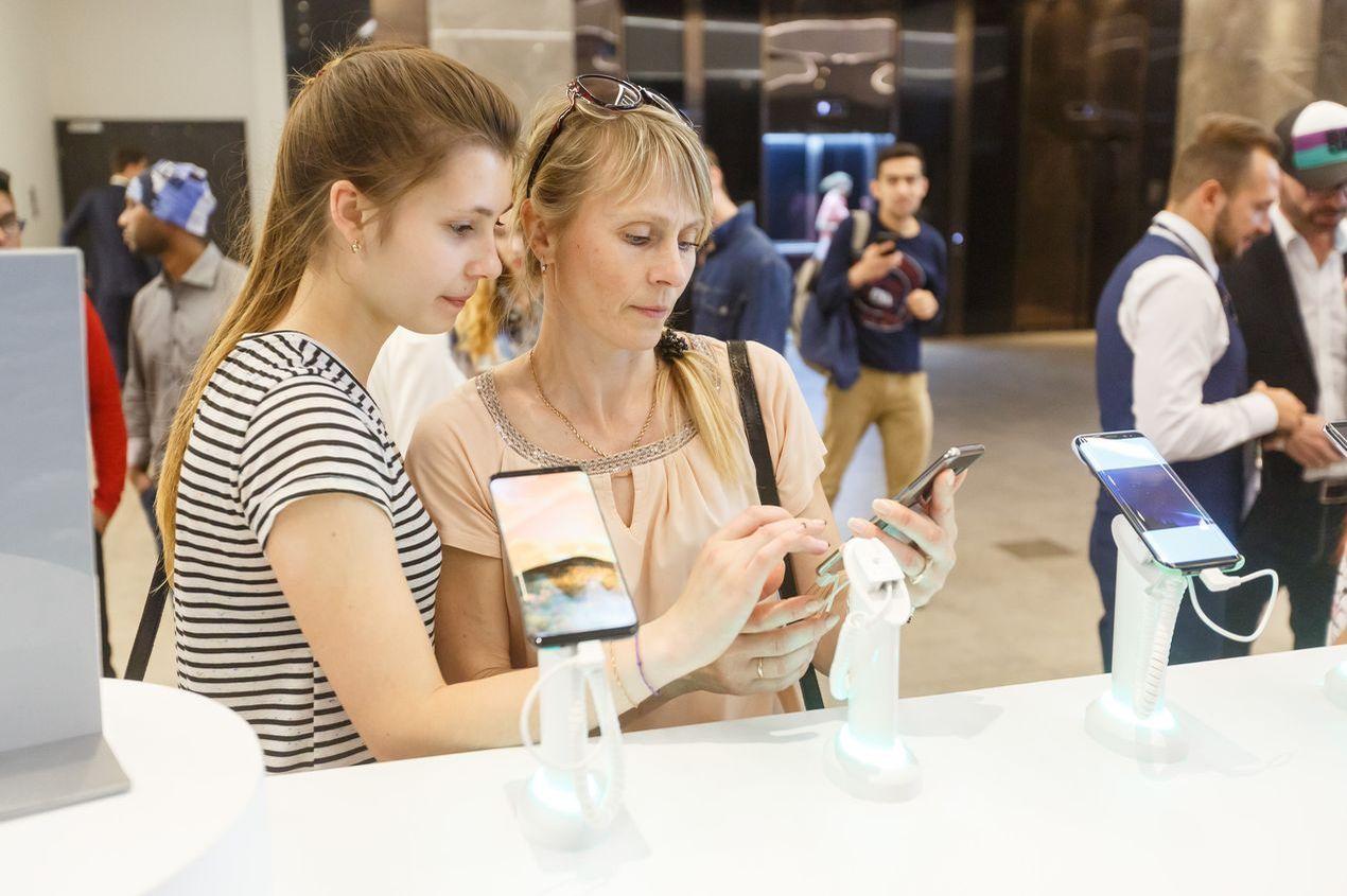 Флагманские смартфоны Samsung Galaxy S8