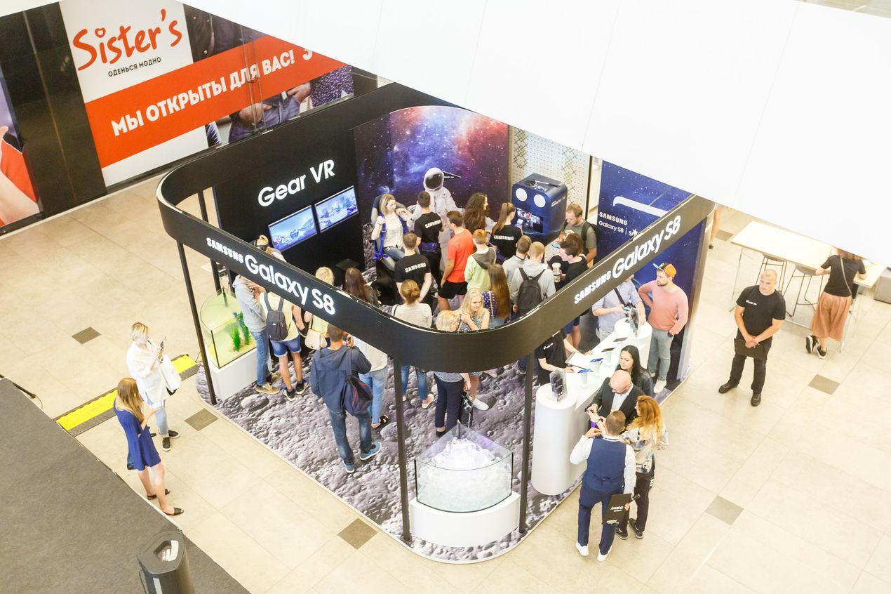 Galaxy S8 Studio Samsung в ТЦ Galleria Минск