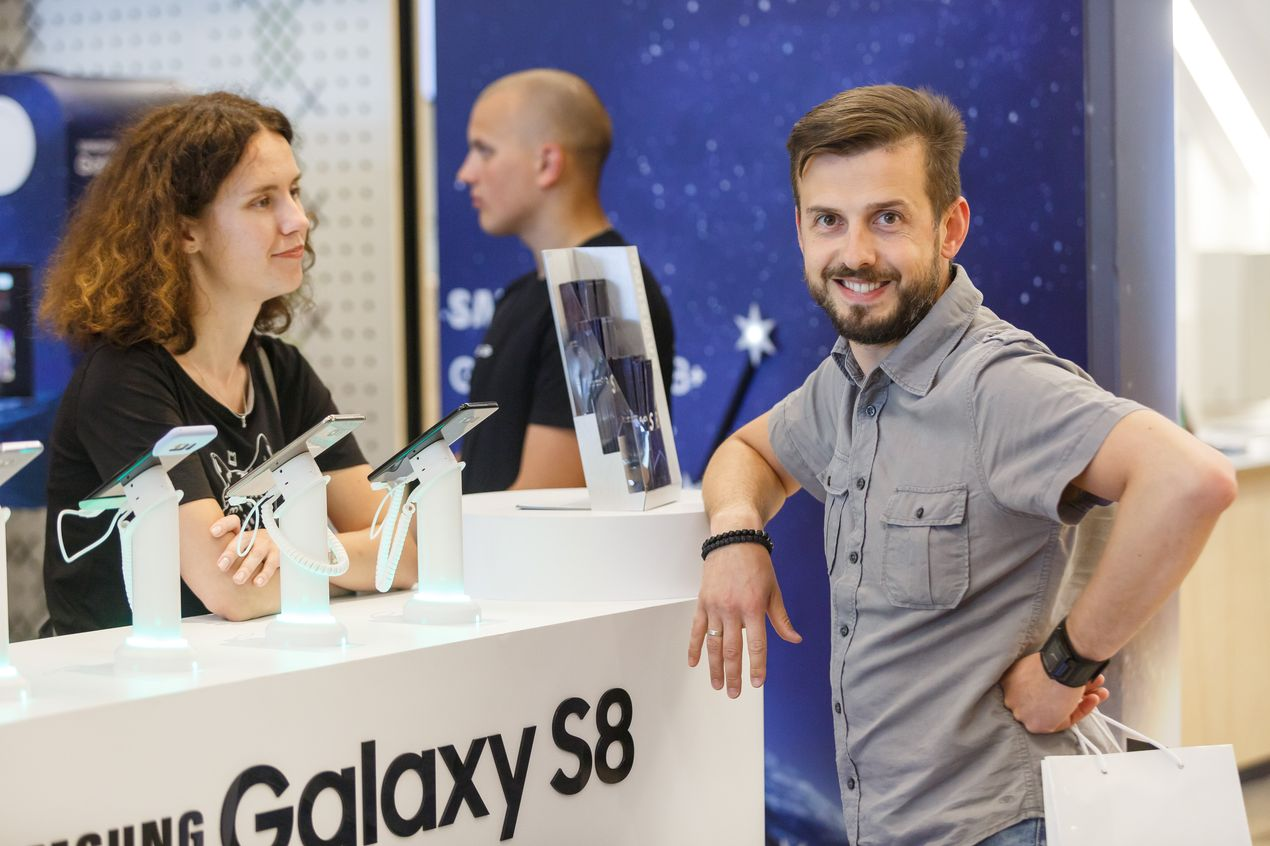 Студия Samsung Galaxy S8