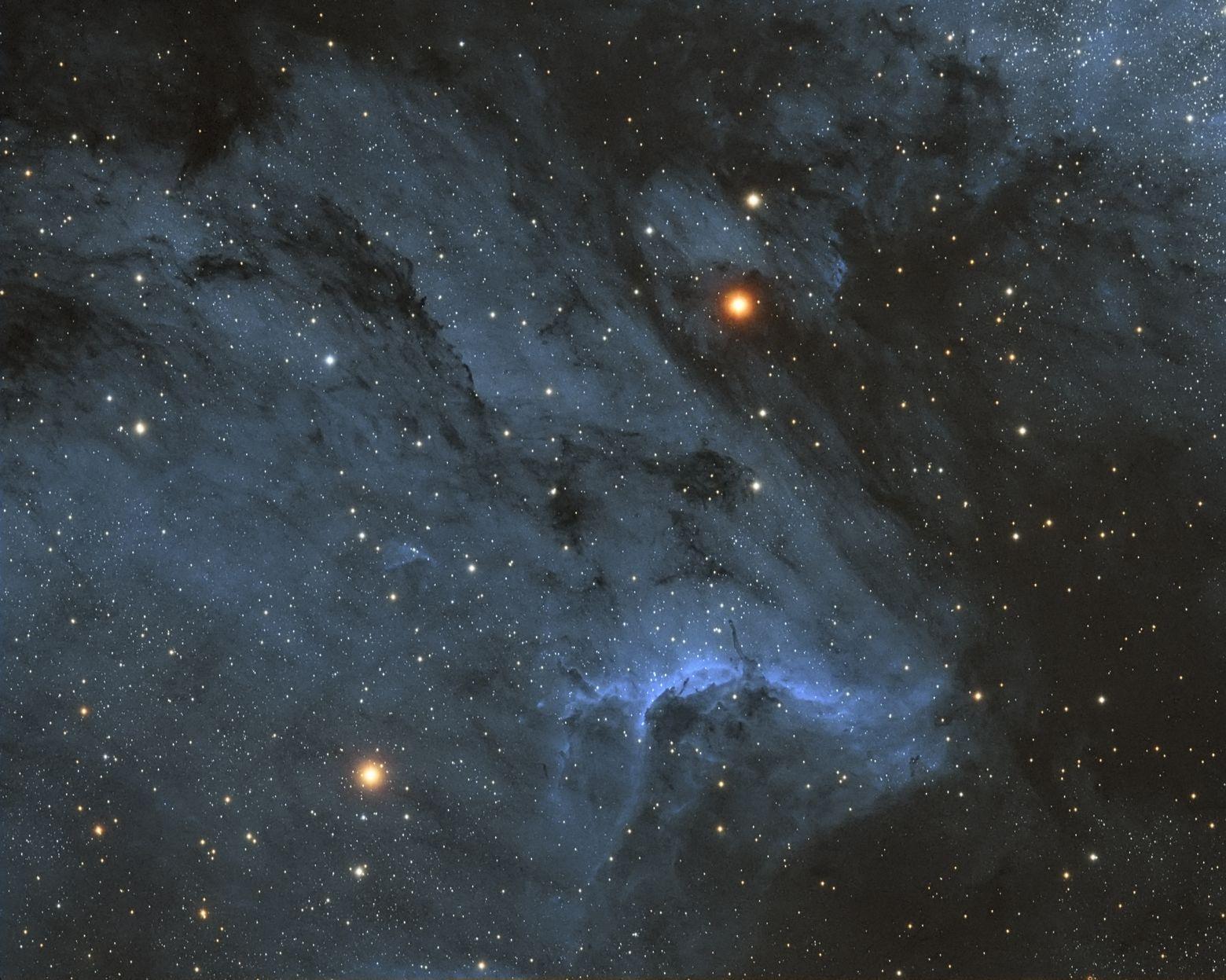 IC5070 Pelican Nebula