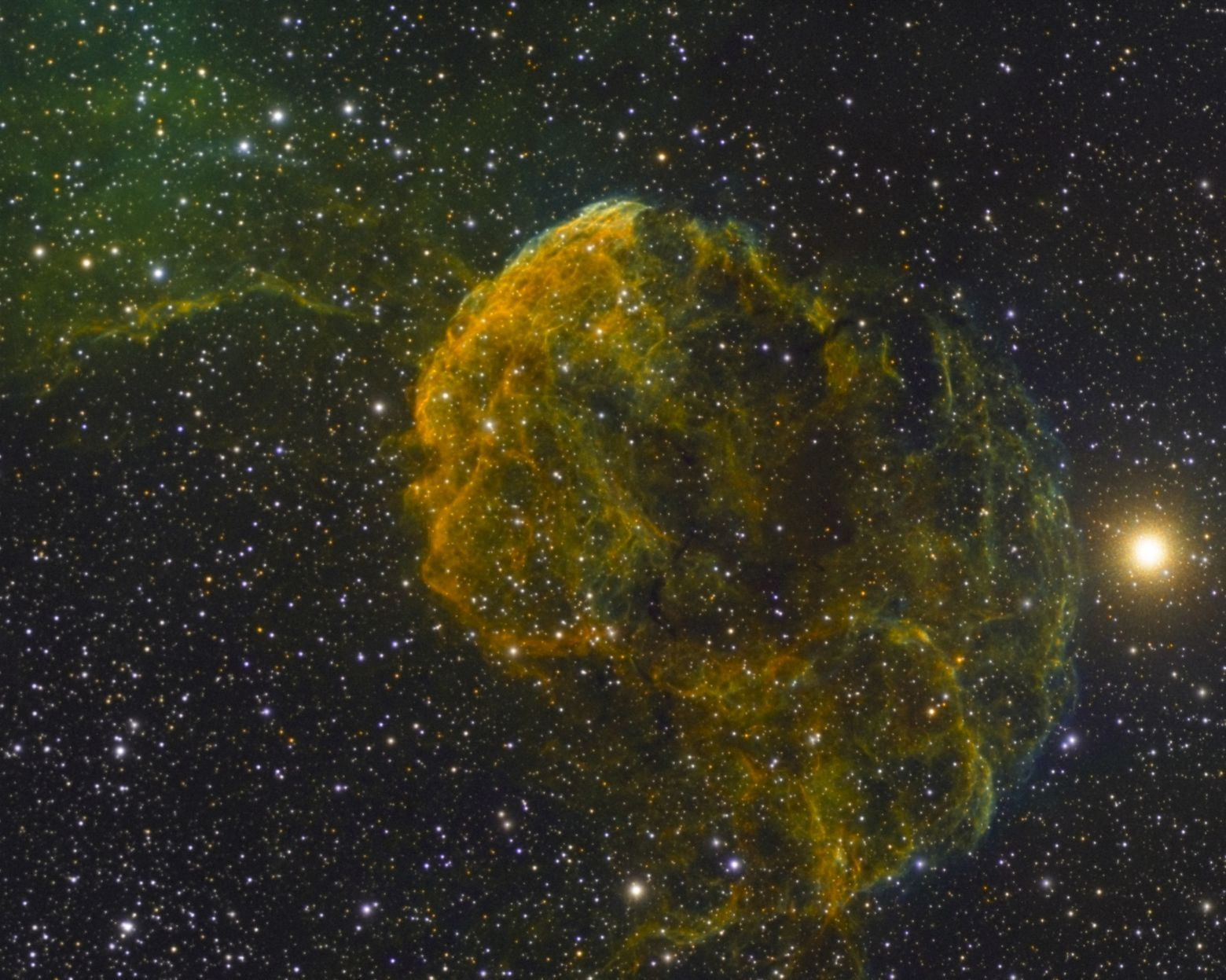 IC443 Jellyfish Nebula