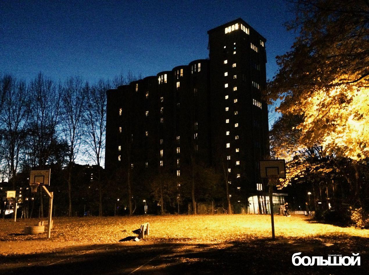 Общежитие, сделанное из элеватора