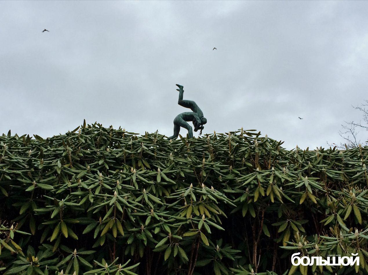 Скульптуры Осло