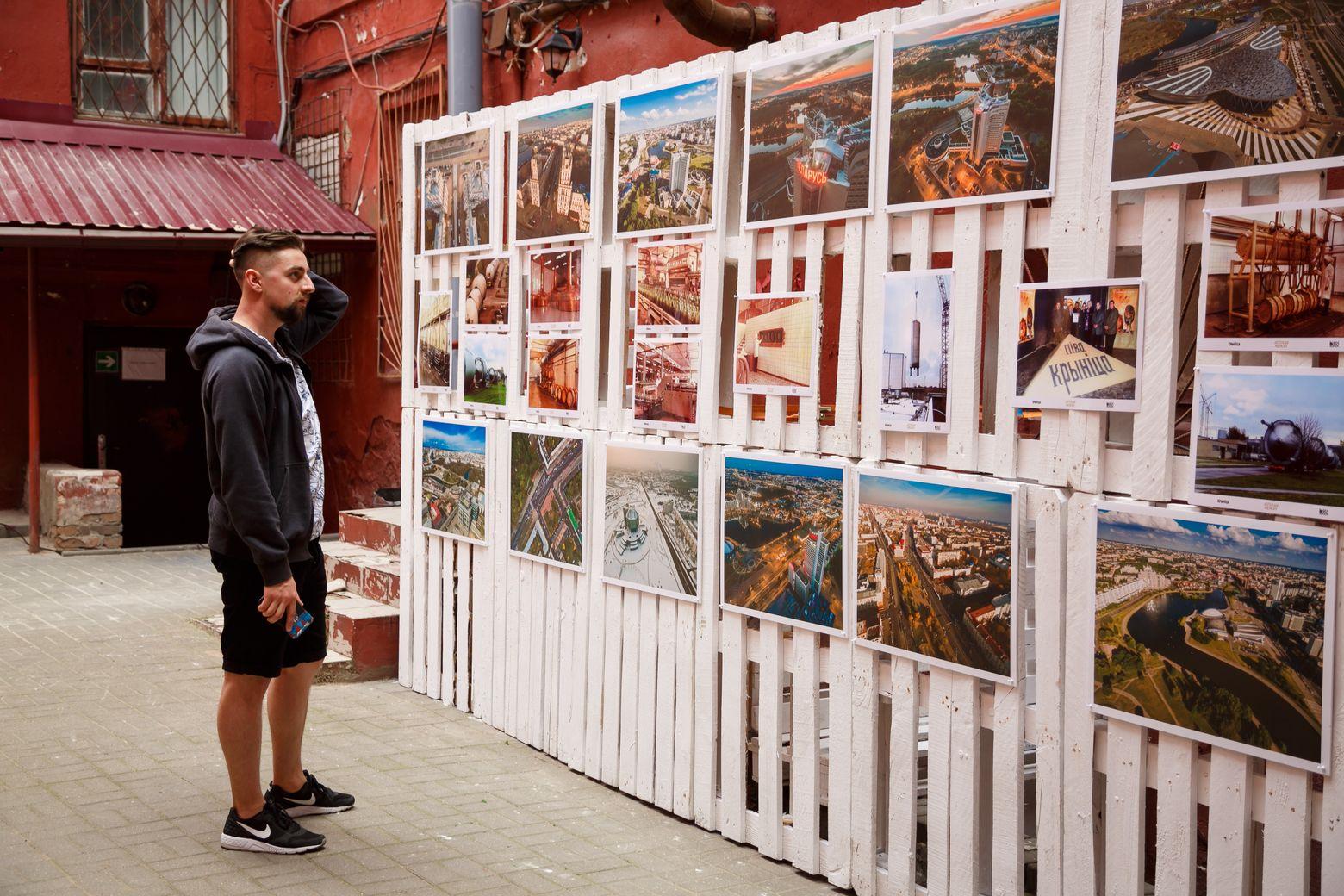 Выставка фотографа Павла Поташникова