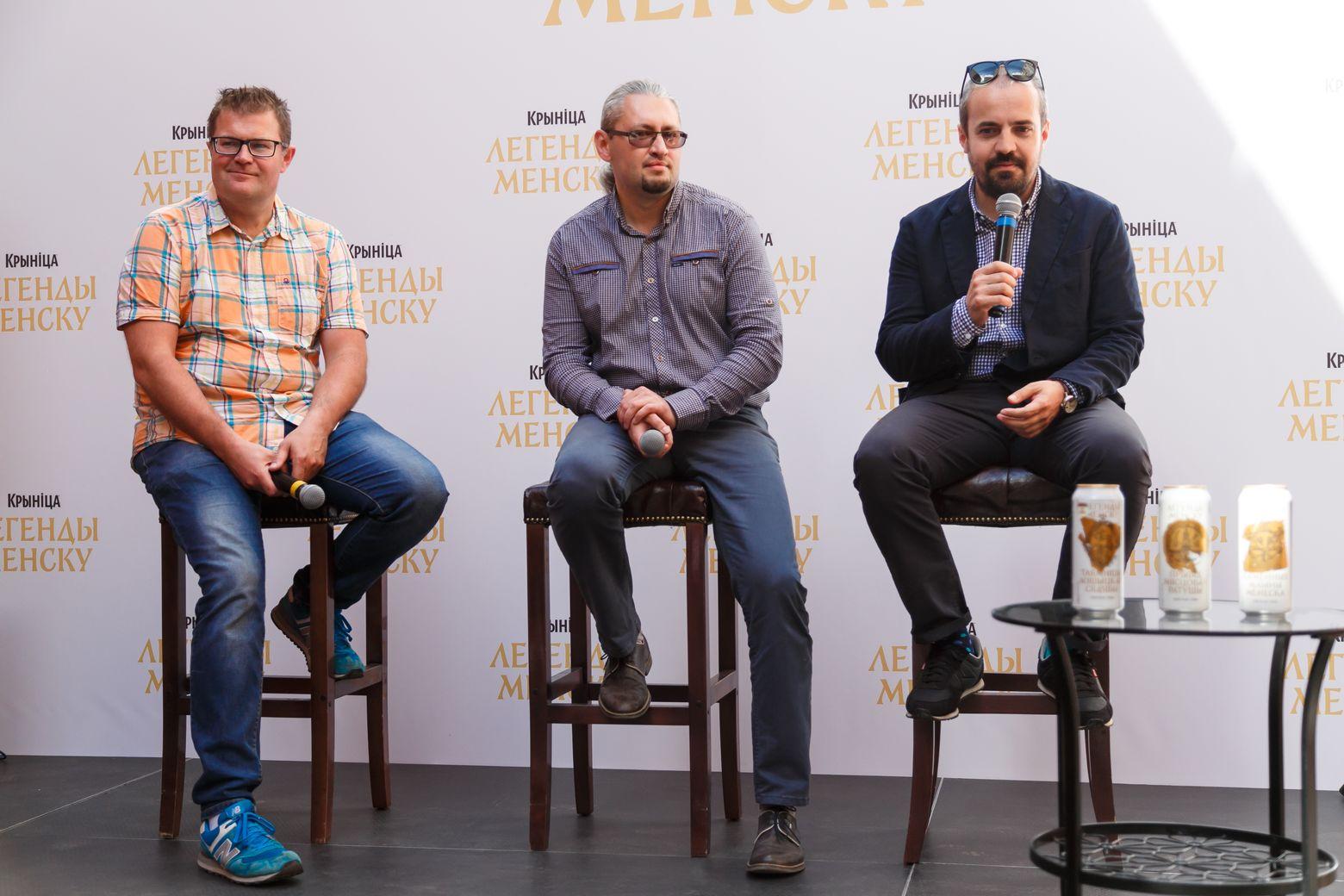 Ток-шоу с участием Юрия Таубкина, Захара Дудинского и Ильи Прохорова