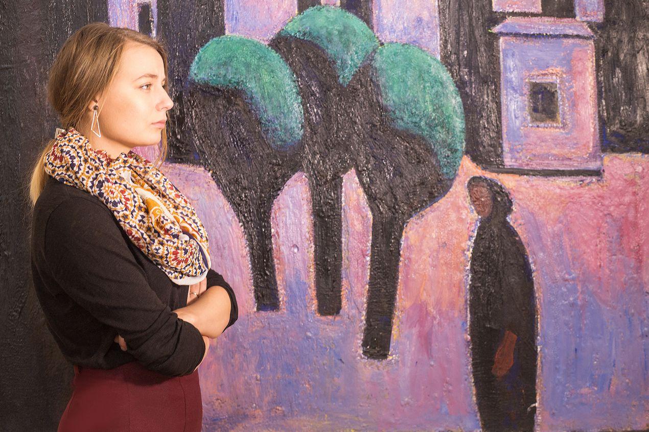 Елена Наборовская, Национальный художественный музей