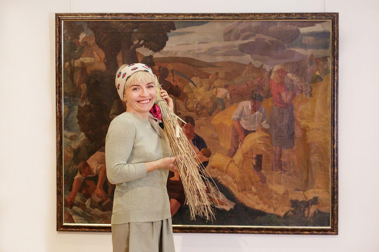 Алла Василевская, Национальный художественный музей