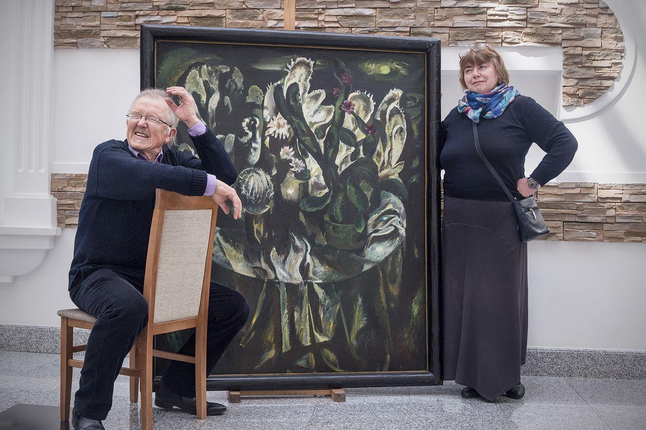 Надежда Усова, Национальный художественный музей