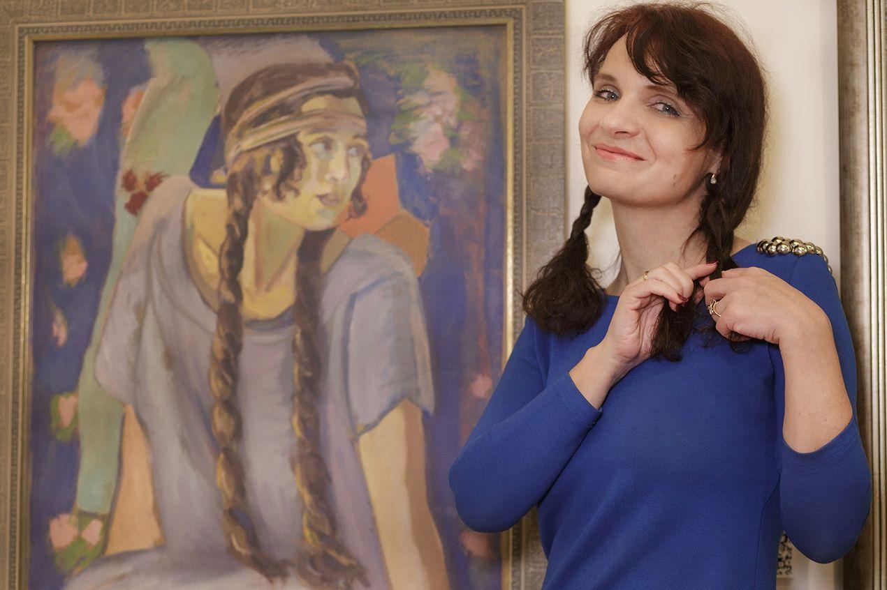 Елена Ткачева, Национальный художественный музей