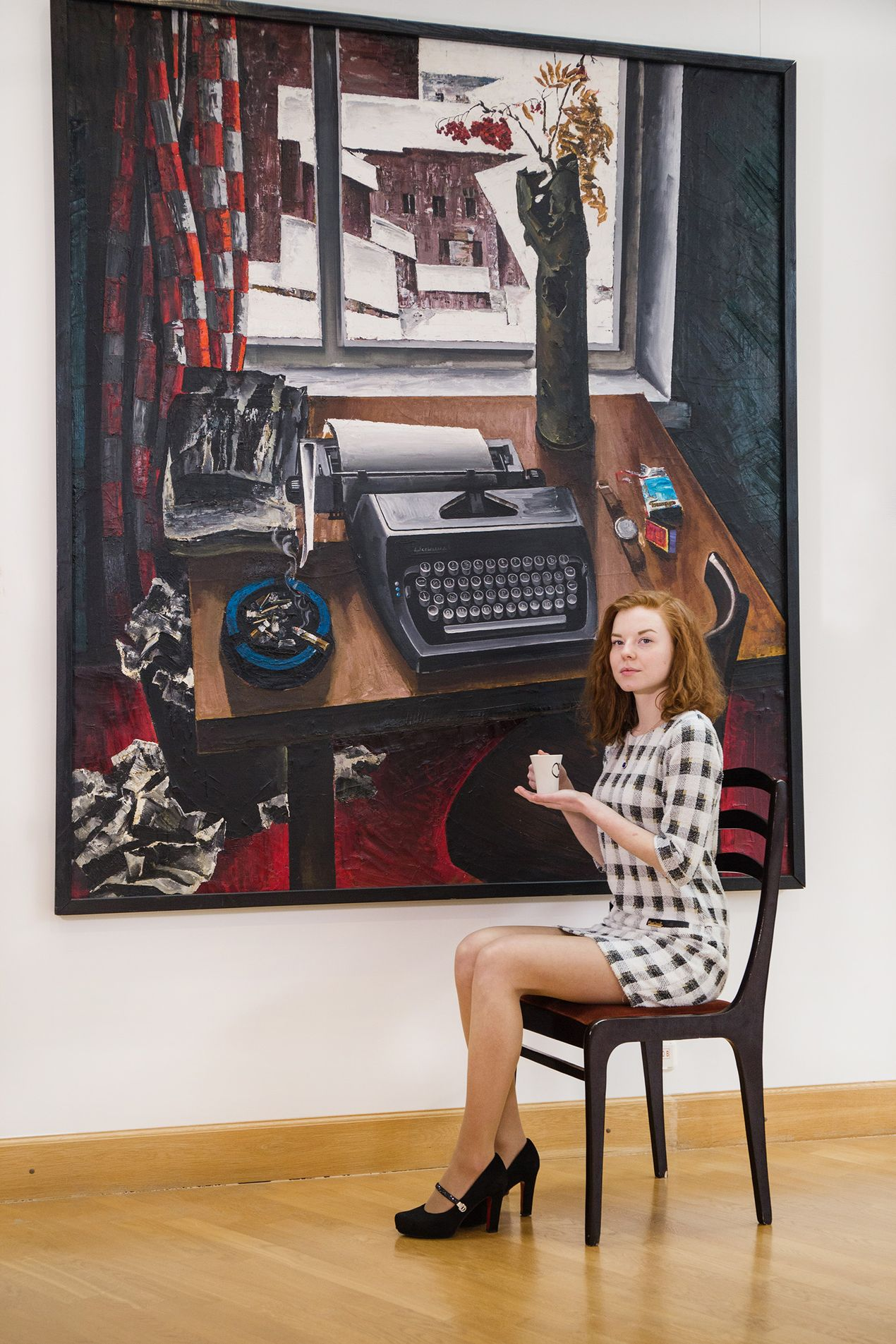 Виктория Мозгова, Национальный художественный музей