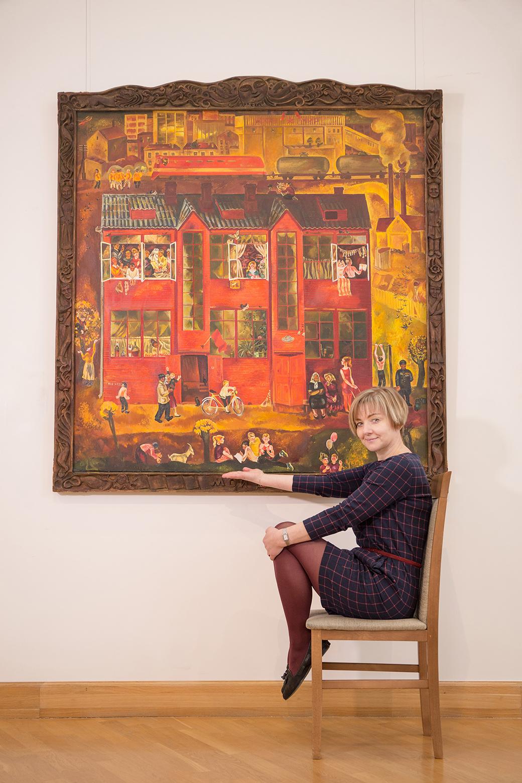 Надежда Красуцкая, Национальный художественный музей