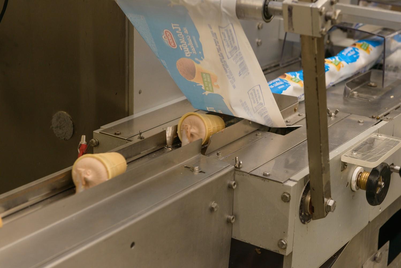 Упаковка мороженного