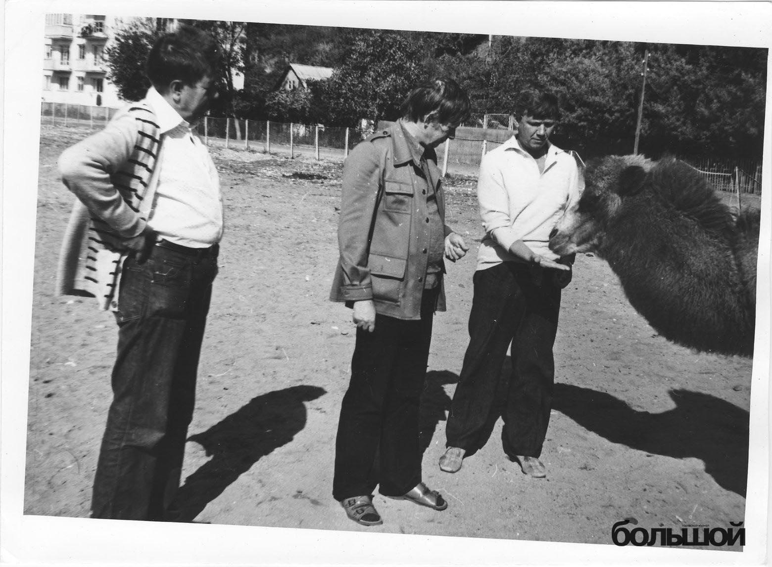 Быкаў, Караткевіч і ... зноў вярблюд