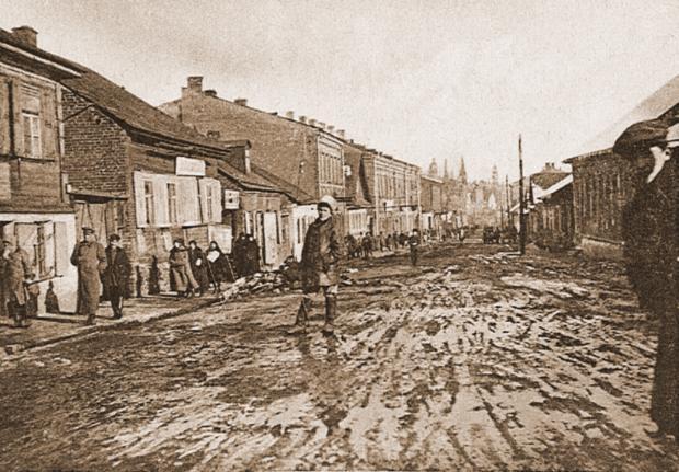 Улица Раковская. В ее окрестностях было девять домов терпимости.