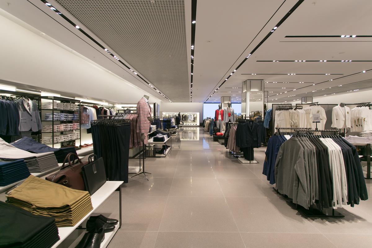 Магазин Zara в Минске