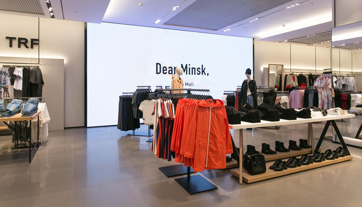 Первый магазин Zara открылся в Минске