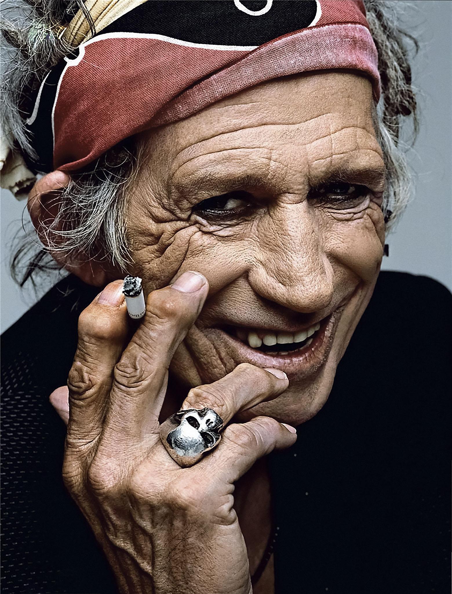 Гитарист The Rolling Stones Кит Ричардс