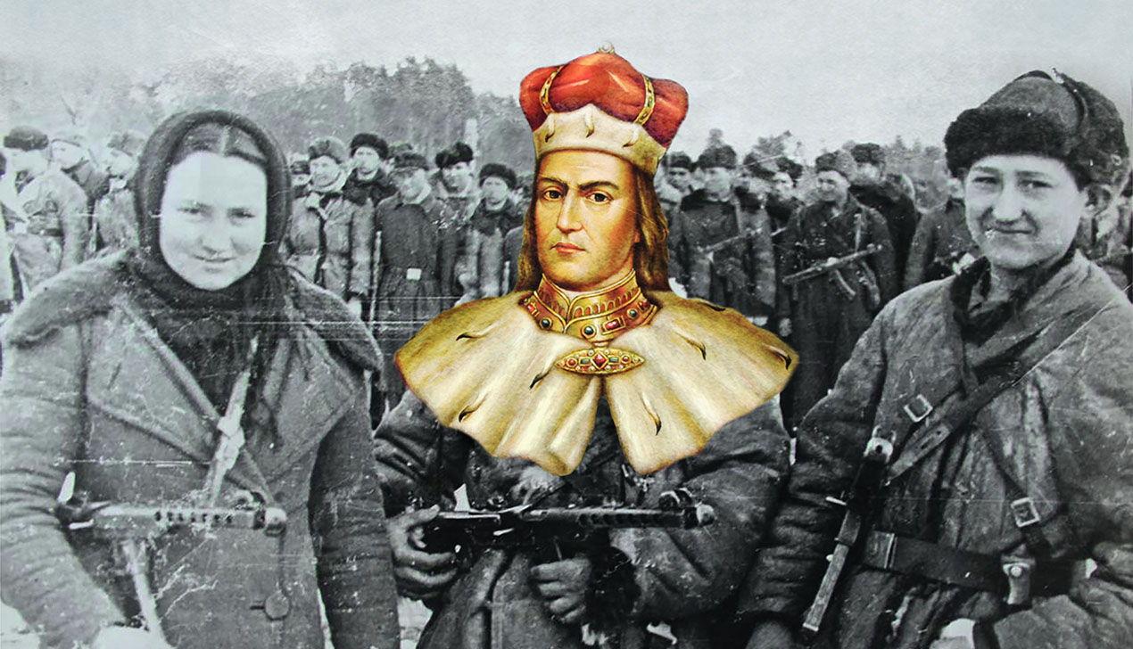 Рыцари или партизаны? Как менялся литературный образ беларуса