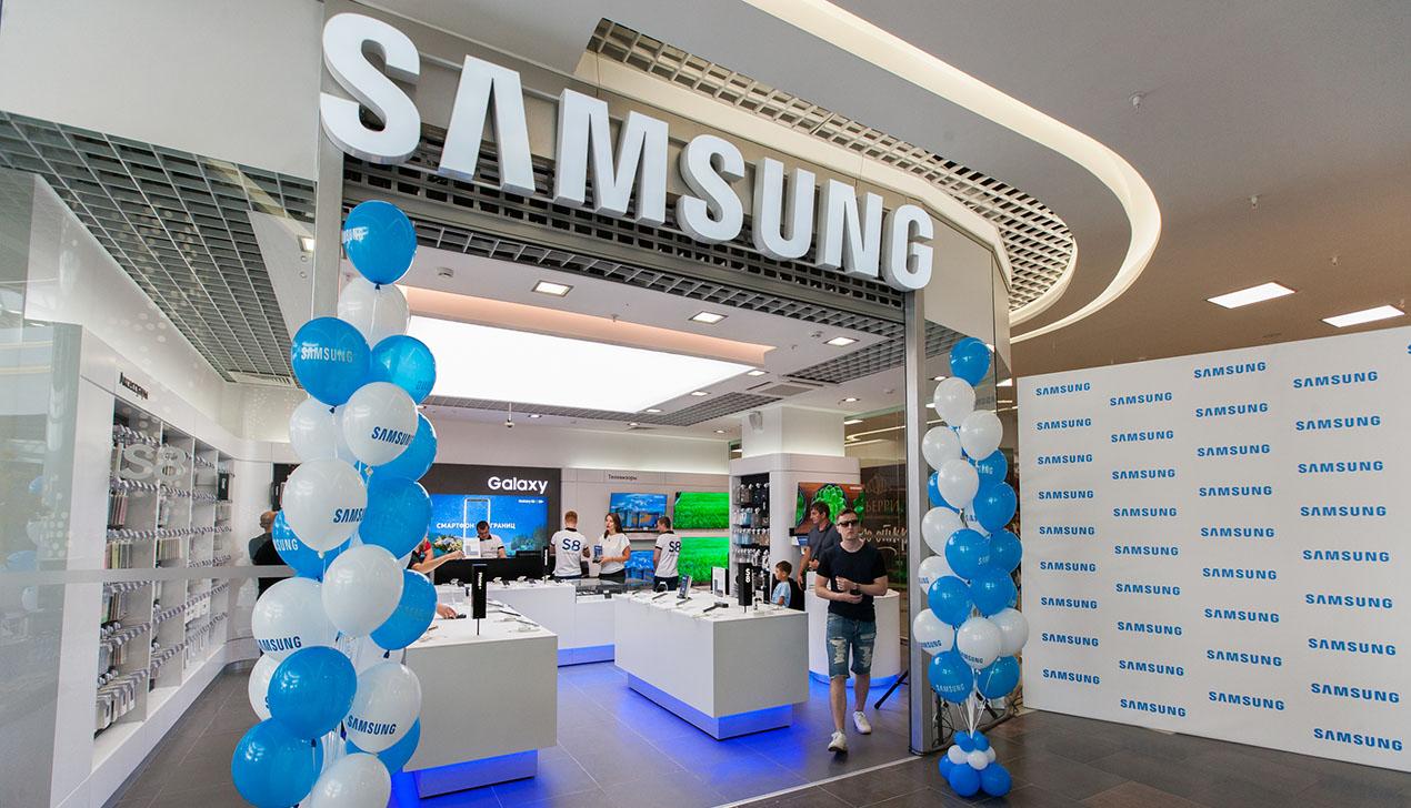 Фирменный магазин Samsung — в Dana Mall