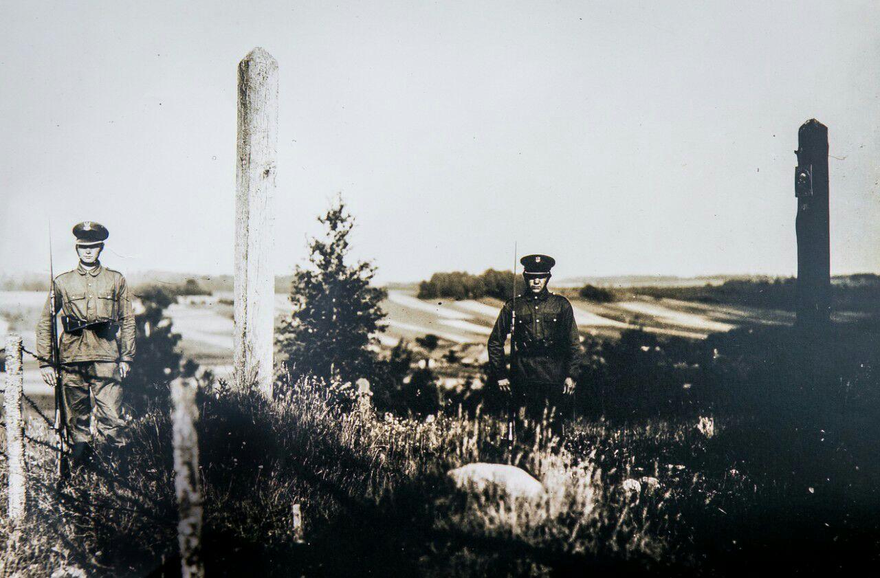 Калі мяжа яшчэ была. Фота з асабістага архіва гісторыка Ігара Мельнікава.