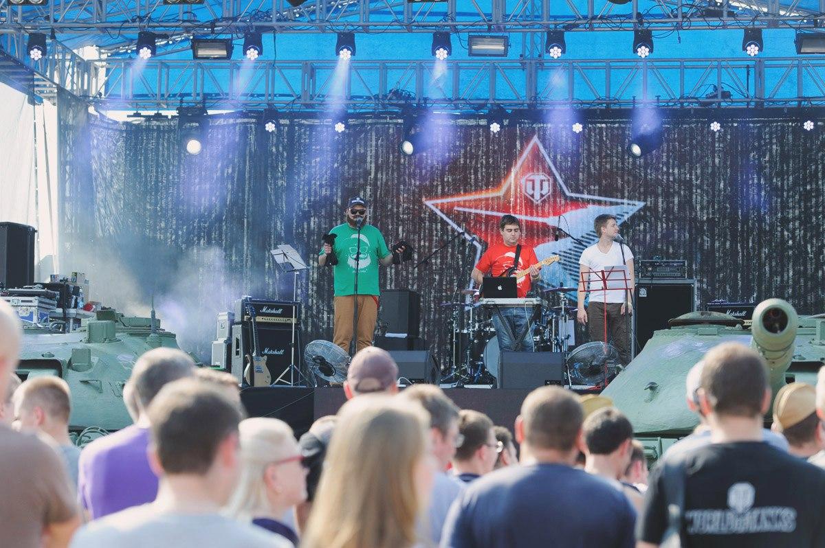 Концерт на День танкиста