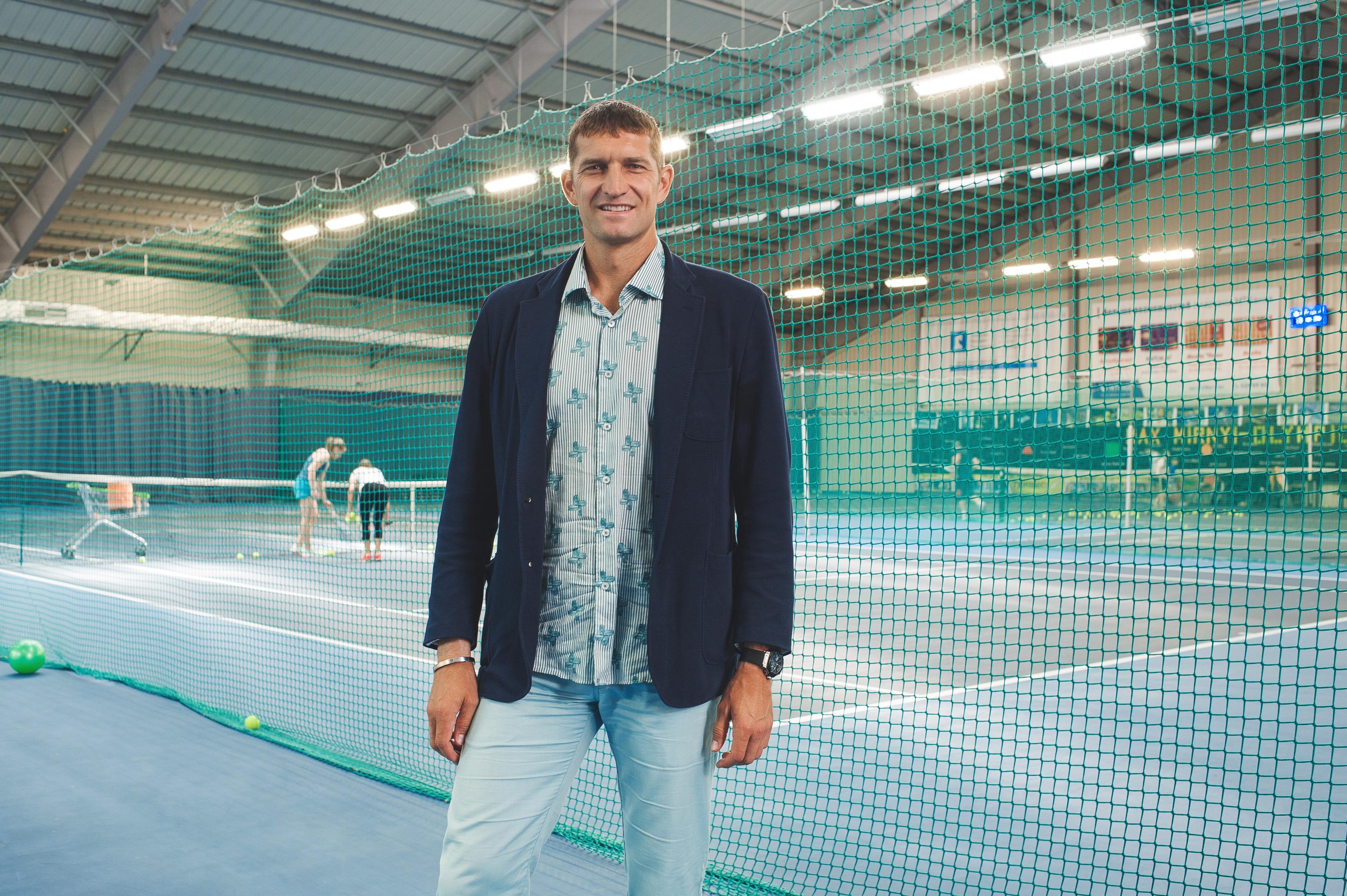 Максим Мирный. Теннисист и бизнесмен.