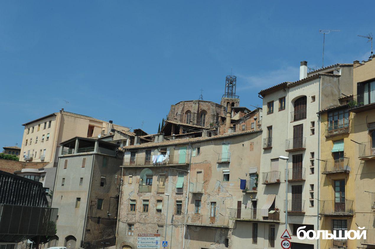 Улицы Каталонии. Испания.