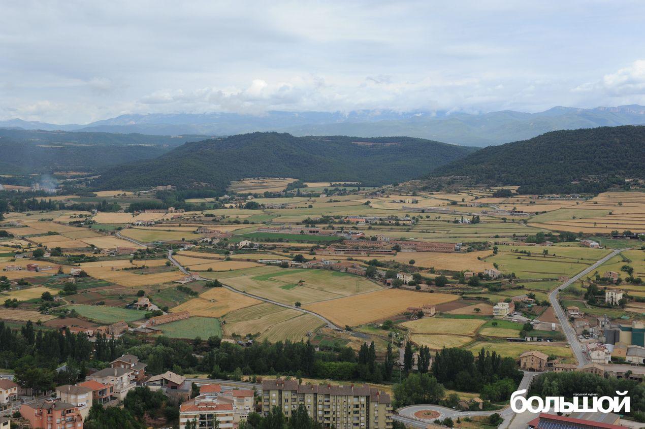 Каталония. Пригород.