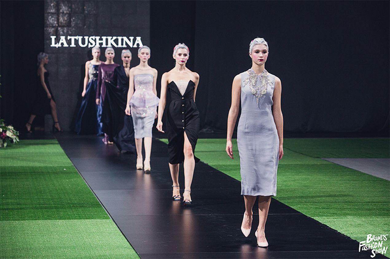 Показ коллекции Marie Юлии Латушкиной. Brands Fashion Show