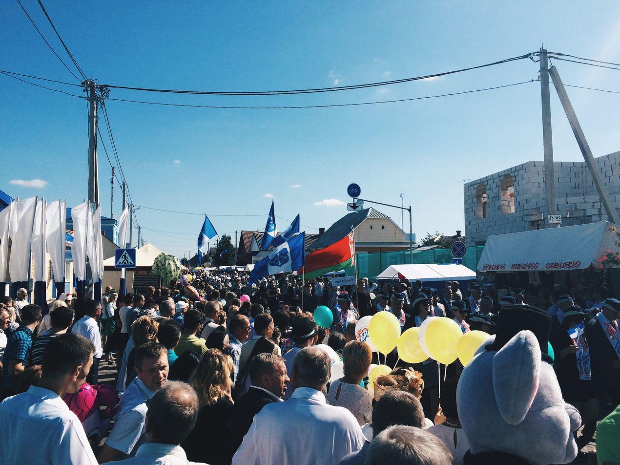 """Гулянья на """"Дажынках-2017"""" в Давид-Городке"""