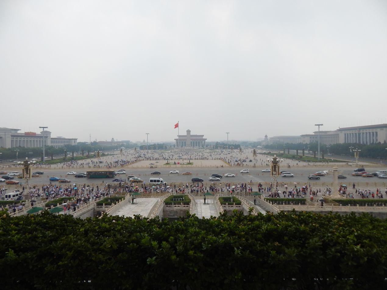 Легендарная площадь Тананьмэнь